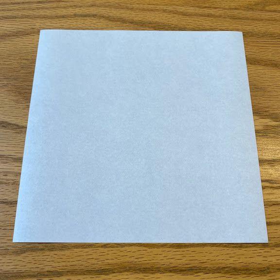 折り紙を裏返しにする