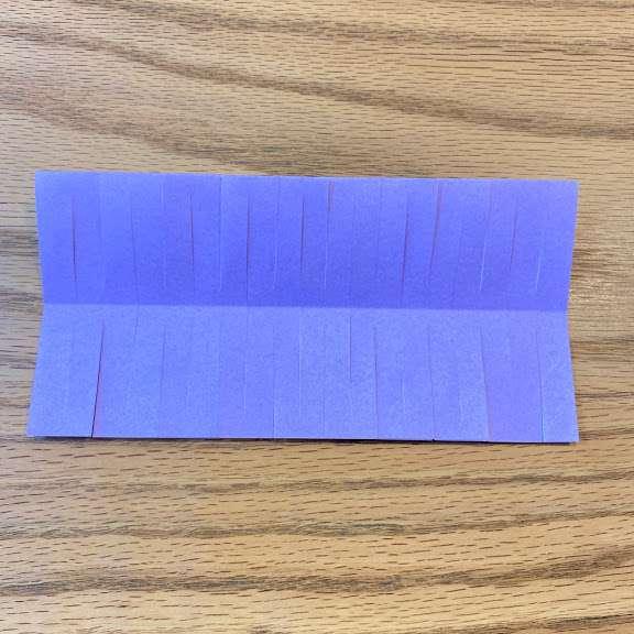 折り紙を開く