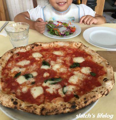 ナプレのマルゲリータピザ